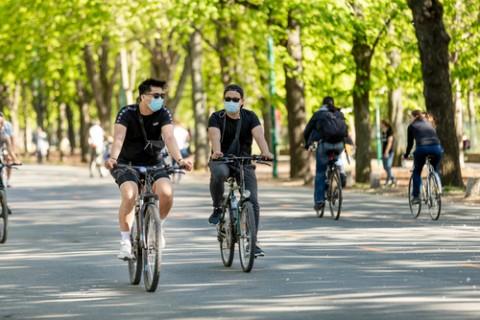 Penerapan Protokol Kesehatan saat Bersepeda