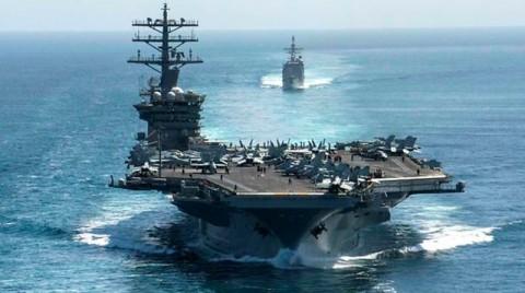 Angkatan Laut AS Bantah Siapkan Kapal Induk Hadapi Iran