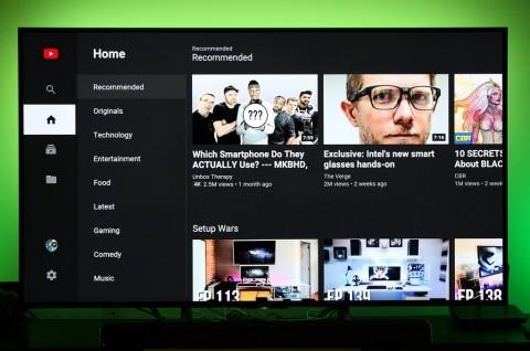 Aplikasi YouTube Android TV Dukung Video 8K