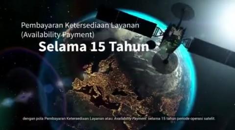 Diluncurkan pada 2023, Satelit SATRIA Saling Melengkapi dengan Palapa Ring
