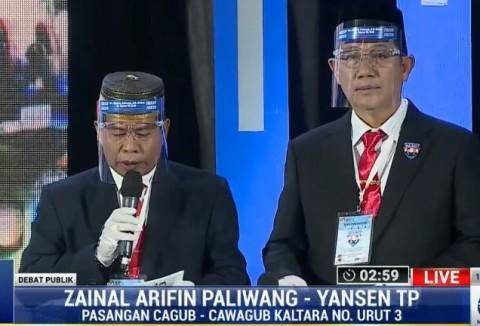 Zaenal-Yansen Sebut Kondisi Kalimantan Utara Saat Ini Buruk
