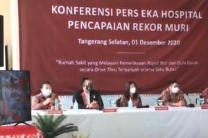 Eka Hospital Catat Rekor Muri dan Resmikan Pusat Layanan Diabetes Pertama di Indonesia