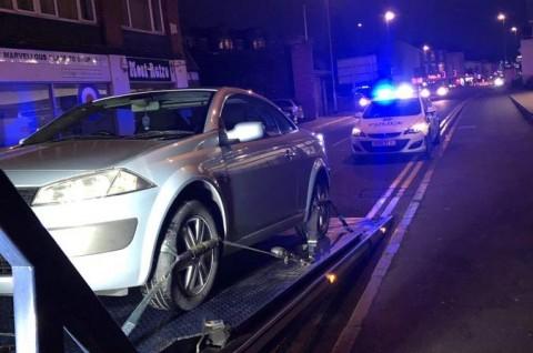 Baru 30 Detik Keluar Dealer, Mobil Ini Diangkut Polisi