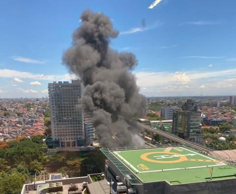 Pegawai Hingga Sopir Tangki Diperiksa Usut Kebakaran SPBU MT Haryono