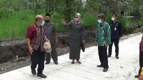 Jalur Evakuasi Merapi Sepanjang 2,2 Km Selesai Diperbaiki