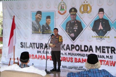 Kantongi Dukungan Bamus Betawi, Kapolda Metro Jamin Jakarta Aman