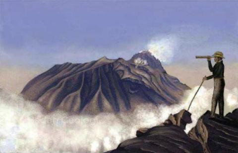 Sumber Tekanan Magma Merapi Mendekati Puncak