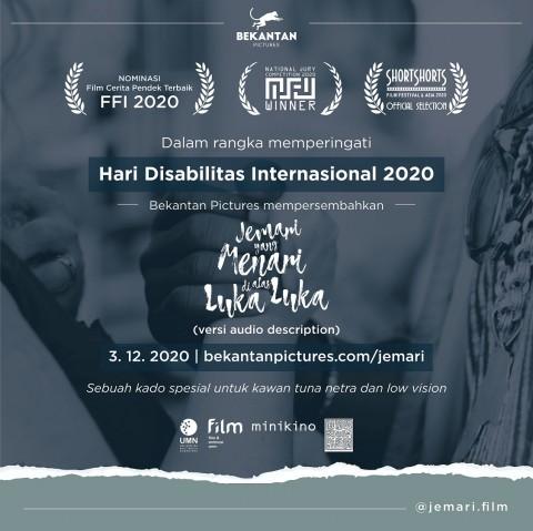 UMN Buat Karya Film untuk Tunanetra
