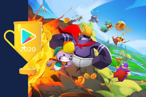 Game Indonesia Rocky Rampage Menang Google Play Best of 2020