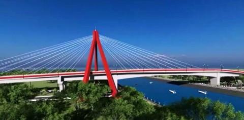 Jembatan Aek Tano Pongol Jadi Ikon Baru di Danau Toba