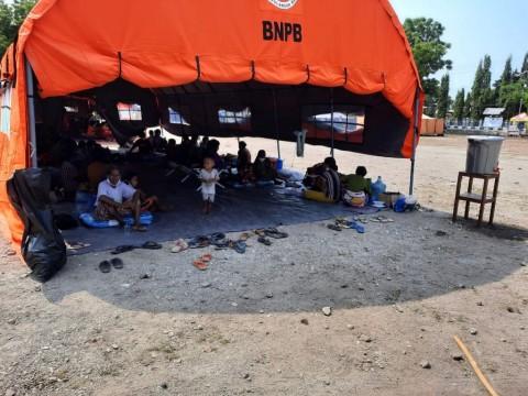 BNPB Minta Pengungsi Rentan Gunung Api Ili Lewotolok Dikhususkan