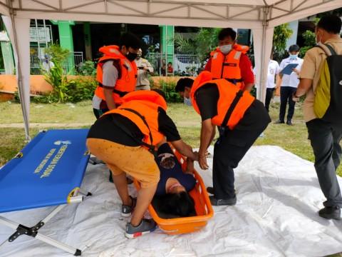 Pemkot Jakpus Simulasi Penanganan Banjir di Karet Tengsin