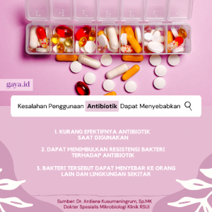 Jangan 'Bercanda' Pakai Antibiotik