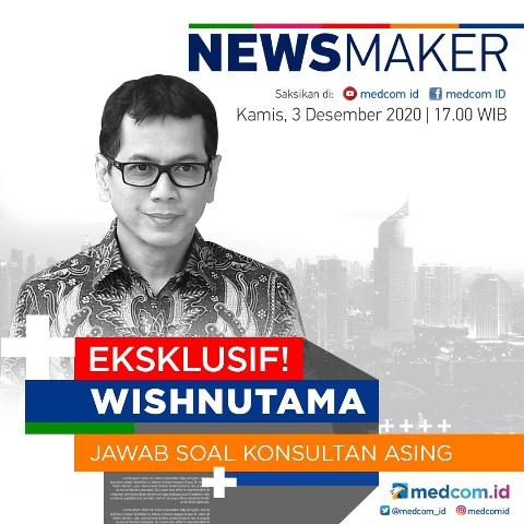 Simak obrolan hangat dengan Menparekraf Wishnutama Kusubandio hari ini jam 5 sore di acara Newsmaker melalui platform Zoom, YouTube, dan Facebook Medcom.id. (Foto: Dok. Medcom.id)