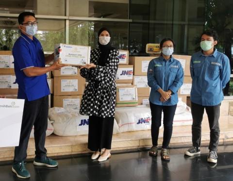 Dompet Kemanusiaan Media Group dan Benihbaik Kembali Salurkan Ribuan APD