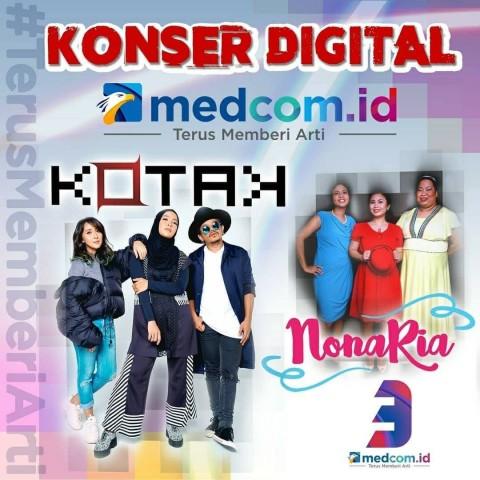 Konser Digital Spesial HUT Ke-3 Medcom.id Siapkan Donasi untuk Guru