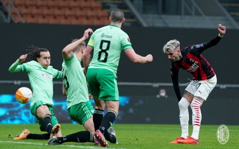 AC Milan vs Glasgow Celtic: Rossoneri Atasi Ketinggalan Dua Gol