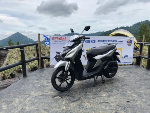 Yamaha Gear 125, Kecil-Kecil Bertenaga