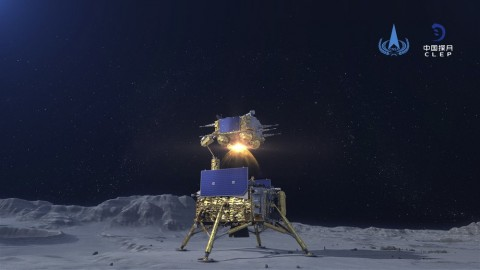 Bawa Sampel Material, Pesawat Antariksa Tiongkok di Bulan Bersiap Menuju Bumi