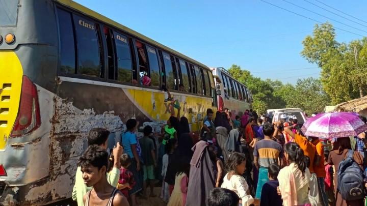 Pengungsi Rohingya Dipindahkan ke Pulau Terpencil Berbahaya di Bangladesh