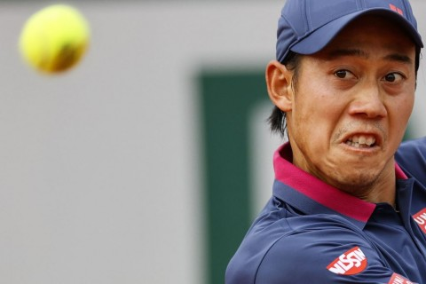 Petenis Kei Nishikori tak Sabar Kembali ke Lapangan