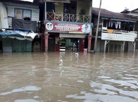 9 Kecamatan di Kota Medan Dilanda Banjir