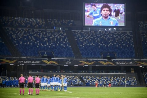 Resmi, Diego Armando Maradona Jadi Nama Stadion Napoli