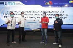 PT AP II Salurkan Bantuan Rp1,2 M untuk Difabel Via Yayasan Kick Andy