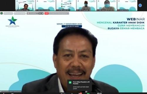 Kepala Perpustakaan Nasional Muhammad Syarif Bando. (Foto: Istimewa)