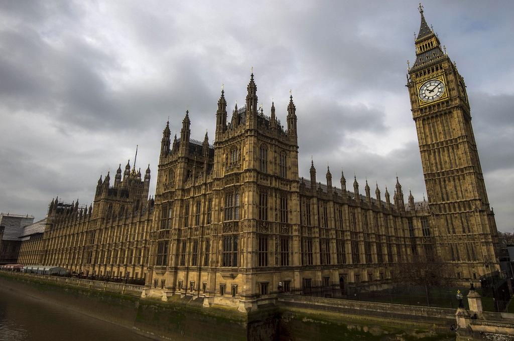 Pemandangan di salah satu sudut kota London, Inggris. (AFP)