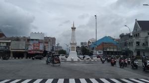 Kawasan Tugu Yogyakarta Bebas dari 'Polusi' Kabel