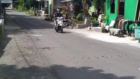 Tak Puas Hasil Pilkades, Warga di Sleman Rusak Jalan Desa
