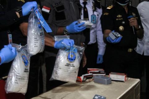 Penyelundupan 2 Kg Sabu ke Bangka Belitung Digagalkan