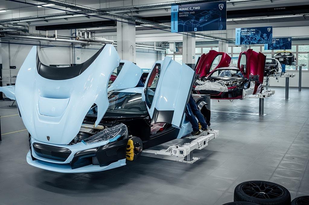 Rimac Automobili sedang sibuk membuat C_Two untuk digunakan sebagai mobil uji coba. Rimac Automobili