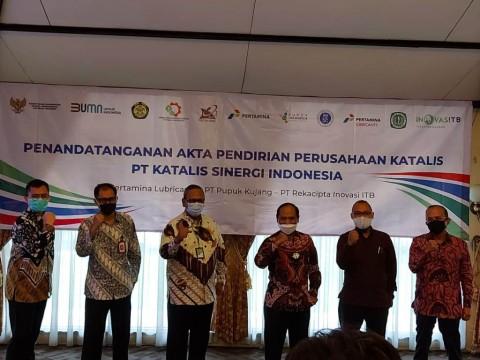 Pertamina Gandeng Pupuk Kujang dan ITB Bentuk Pabrik Katalis Sawit
