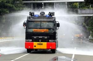 Ruas Jalan Protokol Ibu Kota Didisinfeksi
