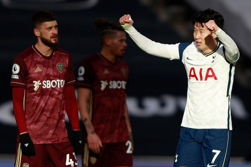 Tottenham vs Leeds United: Bantai The Peacocks, Son Heung-min Cetak Gol ke-100 – Medcom.id