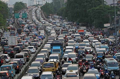 Ada 138 Juta Kendaraan Terdaftar di Indonesia, Terbanyak Di Sini