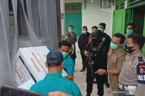 Palembang Terima 30 Ribu Dosis Vaksin Covid-19