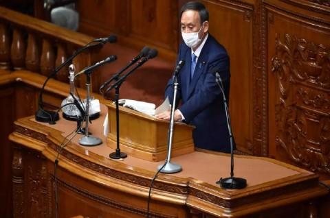 PM Jepang Pertimbangkan Status Darurat Covid-19 di Tokyo