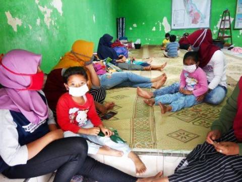 Ratusan Pengungsi Erupsi Merapi merupakan Kelompok Rentan