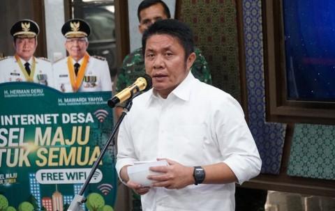 Gubernur Sumsel Siap Disuntik Vaksin Covid-19