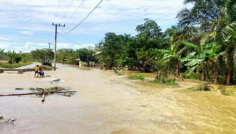 Banjir di Langsa Meluas ke Empat Kecamatan