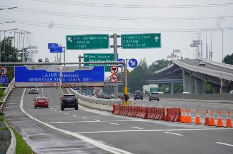 Libur Akhir Tahun Usai, 323 Ribu Kendaraan Masuk Jabodetabek