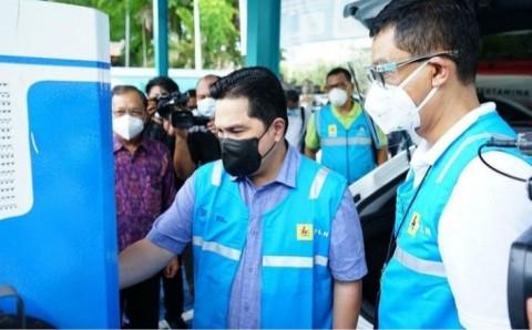Erick Thohir: Ke Bali Pakai Mobil Listrik hanya Habiskan Rp200 Ribu