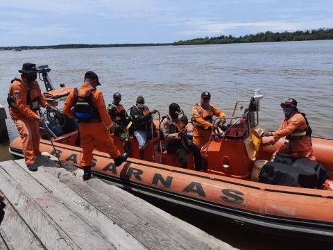 <i>Longboat</i> Berisi 14 Orang Hilang Kontak di Perairan Timika-Agats