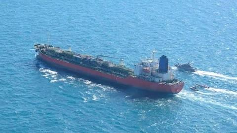 Iran Sita Tanker Kimia Milik Korea Selatan