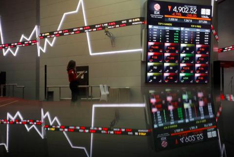 Ikuti Bursa Global, IHSG dan Bursa Asia Kompak Terjungkal