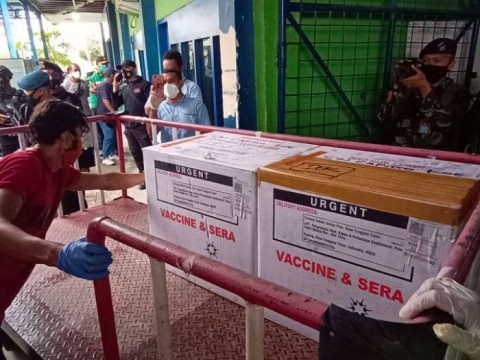 800 Ribu Warga Maluku Utara Siap Divaksin Covid-19