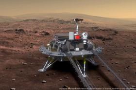 Misi Pertama Tiongkok akan Tiba di Mars Bulan Depan